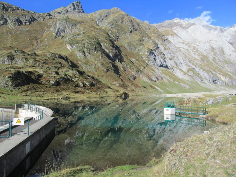 Pont Neige Houlette Barrage Ossoue-35