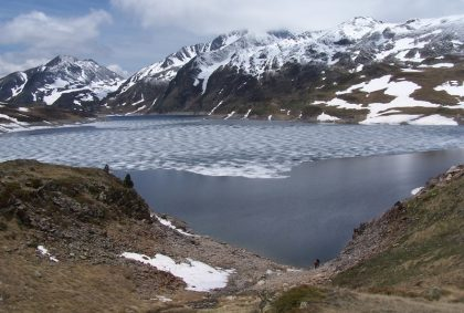 Lac Barrage du Lanoux