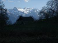 Col de Lastris depuis Lapège