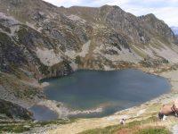 Col de la Parade et Lac d'Aygue longue