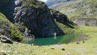 Le Lac de Badet depuis la station de Piau-Engaly