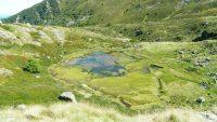 L'étang des Rives et l'étang du Tirou par le cirque d'Embans