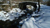 Le vieux pont de Contrac et la cascade du Ressec