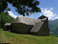 L'Église Saint Calixte depuis Mont