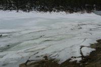 Les fontaines d'Escaldes-Engordany par le lac d'Engolasters