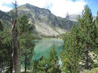 Les Laquettes depuis le Lac d'Orédon