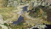 L'Étang Vidal par le barrage du val d'Arques et l'étang de Pédourres