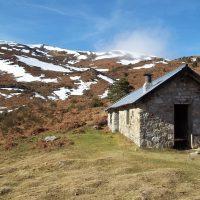 La cabane d'Estibat par le bois de Lagrié