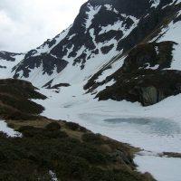 L'Étang Bleu du Tirou et le Col de la Couillate