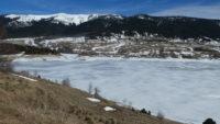 Lacs & Étangs gelés en Pyrénées Orientales
