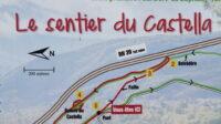 Sentier du Castella de Labarre
